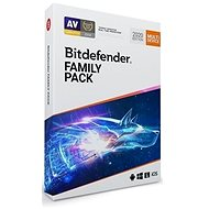 Bitdefender Family Pack for 15 Devices for 1 Year (BOX) - Antivirus