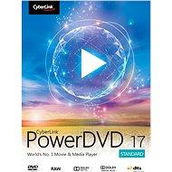 Cyberlink PowerDVD 17 Standard (elektronická licence) - Elektronická licence