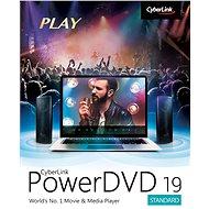 Cyberlink PowerDVD 19 Standard (elektronická licence) - Elektronická licence