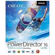 CyberLink PowerDirector 16 Ultra (elektronická licence) - Střihový software