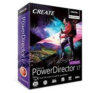 CyberLink PowerDirector 17 Ultimate (elektronická licence) - Elektronická licence