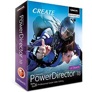 CyberLink PowerDirector 18 Ultimate (Electronic Licence) - Video Software