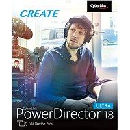 CyberLink PowerDirector 18 Ultra (elektronická licence) - Video software