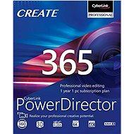 CyberLink PowerDirector 365 na 12 měsíců (elektronická licence) - Video software