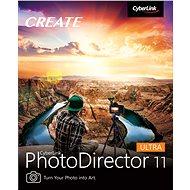 CyberLink PhotoDirector 11 Ultra (elektronická licence) - Video software