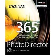 CyberLink PhotoDirector 365 na 12 měsíců (elektronická licence) - Kancelářský software
