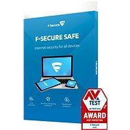 F-Secure SAFE pro 3 zařízení na 1 rok BOX - Antivirus