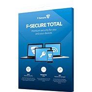 F-Secure TOTAL pro 3 zařízení na 1 rok  BOX - Antivirus