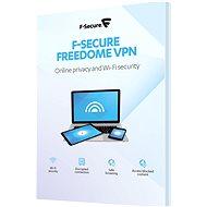 F-Secure FREEDOME pro 3 zařízení na 1 rok (elektronická licence) - Internet Security