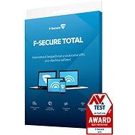 F-Secure TOTAL pro 3 zařízení na 1 rok (elektronická licence) - Internet Security