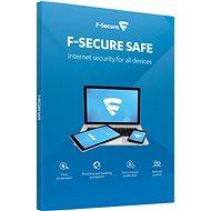 F-Secure SAFE pro 1 zařízení na 1 rok (elektronická licence) - Antivirus