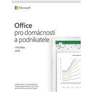 Microsoft Office 2019 pro domácnosti a podnikatele CZ (elektronická licence) - Kancelářský software