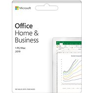 Microsoft Office 2019 Home and Business EN (elektronická licence) - Elektronická licence