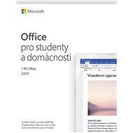 Microsoft Office 2019 pro domácnosti a studenty CZ (elektronická licence) - Elektronická licence