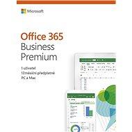 Microsoft Office 365 Business Premium Retail CZ (elektronická licence) - Elektronická licence