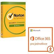 Microsoft Office 365 pro jednotlivce + Norton Int.  Security pro 1 zařízení (elektronická licence) - Elektronická licence