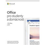 Kancelářský software Microsoft Office 2019 pro domácnosti a studenty (elektronická licence)
