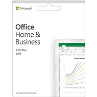 Office Software Microsoft Office 2019 Home and Business (Electronic Licence)