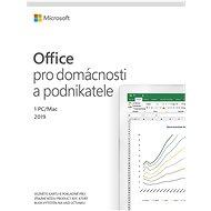 Kancelářský software Microsoft Office 2019 pro domácnosti a podnikatele (elektronická licence)
