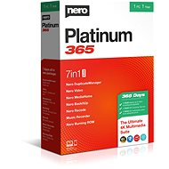 Nero Platinum 365 CZ BOX - Software