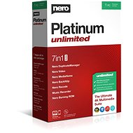 Nero Platinum Unlimited CZ BOX - Software
