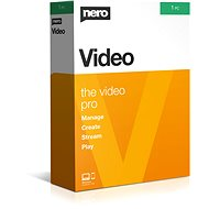 Nero Video (Electronic License) - Burning Software