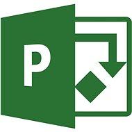 Kancelářský software Microsoft Project Online - Plan 3 (měsíční předplatné)