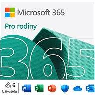 Kancelářský software Microsoft 365 pro rodiny (elektronická licence)