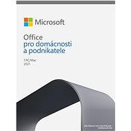 Kancelářský software Microsoft Office 2021 pro domácnosti a podnikatele (elektronická licence)