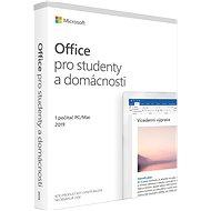 Microsoft Office 2019 pro domácnosti a studenty CZ (BOX) - Kancelářský software