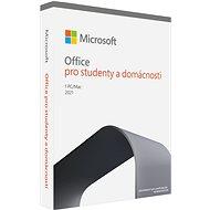 Kancelářský software Microsoft Office 2021 pro domácnosti a studenty CZ (BOX)