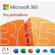 Kancelářský software Microsoft 365 pro jednotlivce (elektronická licence)