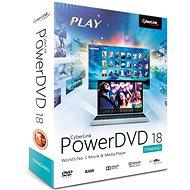 Cyberlink PowerDVD 18 Standard (elektronická licence)