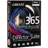 Cyberlink Director Suite 365 na 12 měsíců (elektronická licence) - Kancelářský software