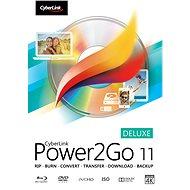 Cyberlink Power2GO Deluxe 11 (elektronická licence) - Elektronická licence