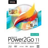 Cyberlink Power2GO Deluxe 11 (elektronická licence)