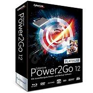 Cyberlink Power2GO Platinum 12 (elektronická licence)