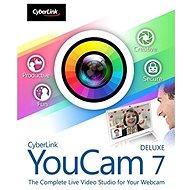 Cyberlink YouCam 7 Deluxe (elektronická licence) - Elektronická licence