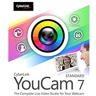 Cyberlink YouCam 7 Standard (elektronická licence) - Elektronická licence