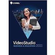 Corel VideoStudio 2021 Business & Education, EDU (elektronická licence) - Grafický software