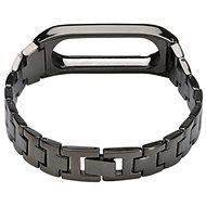 SXT Mi Band 2 kovový náramek černý - řemínek