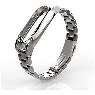SXT kovový náramek stříbrný - řemínek