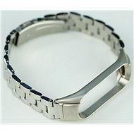 SXT Mi Band 3 kovový náramek (Typ 1) stříbrný - řemínek