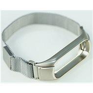 SXT Mi Band 3 kovový náramek (M-lock) stříbrný