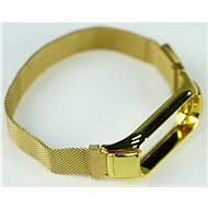 SXT Mi Band 3 kovový náramek (M-lock) zlatý - řemínek