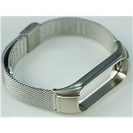 SXT Mi Band 3 kovový náramek (Typ 3) stříbrný - řemínek