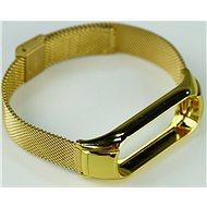 SXT Mi Band 3 kovový náramek (Typ 3) zlatý - řemínek
