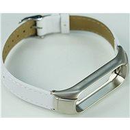 SXT Mi Band 3 koženkový náramek bílý - řemínek
