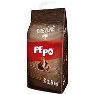 Brikety PE-PO dřevěné uhlí 2,5 kg - Brikety