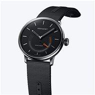 Sequent SuperCharger 2.1 Premium onyxově černé s černým řemínkem - Chytré hodinky